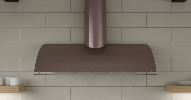 """Zephyr Cheng Limited Edition Okeanito 42"""" Wall Hood-Rose Gold Stainless Steel-COK-E42BRGX"""