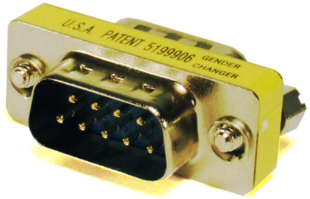 Savant® DB-9 Mini Gender Changer 10-Pack-CON-10GEN-00