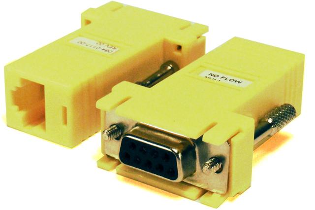 Savant® RJ45 Serial Adapters No Flow Null 10-Pack-CON-10NFN-00