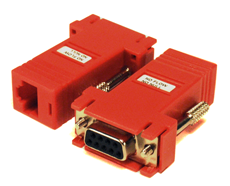 Savant® RJ45 Serial Adapters No Flow No Null 10-Pack-CON-10NFNN-00