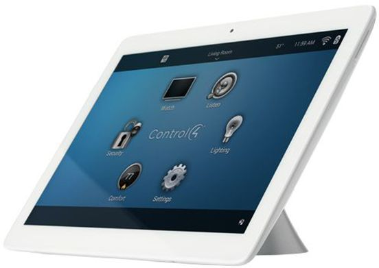 """Control4® T3 Series White 7"""" Tabletop Touch Screen-C4-TT7-1-WH"""