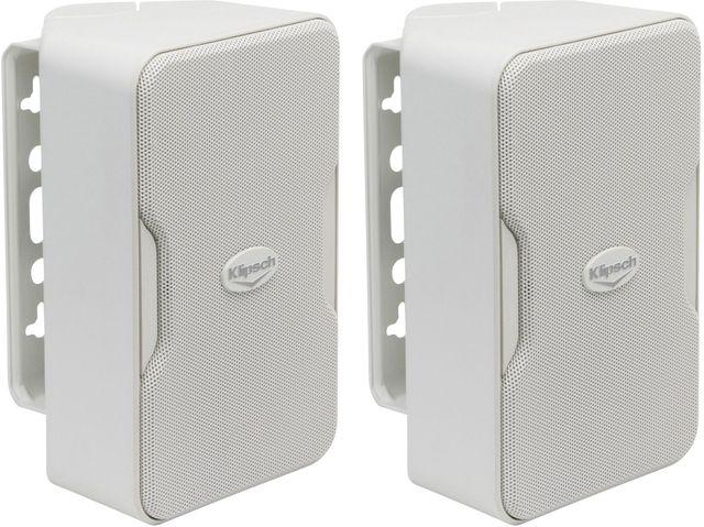 Klipsch® CP-T Series CP-4T White Indoor/Outdoor Speakers-1060386