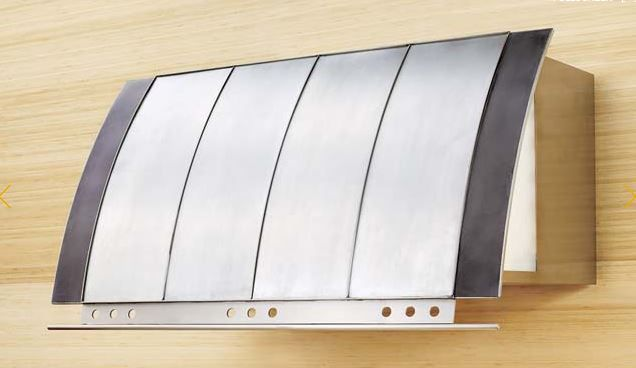 """Zephyr Cheng Collection Padova 54"""" Wall Hood-Stainless Steel-CPA-E54ASX"""