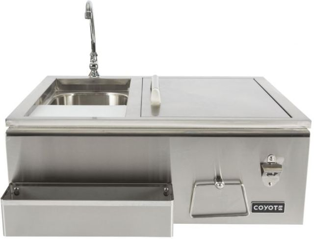 Coyote Outdoor Living Refreshment Center-Stainless Steel-CRC