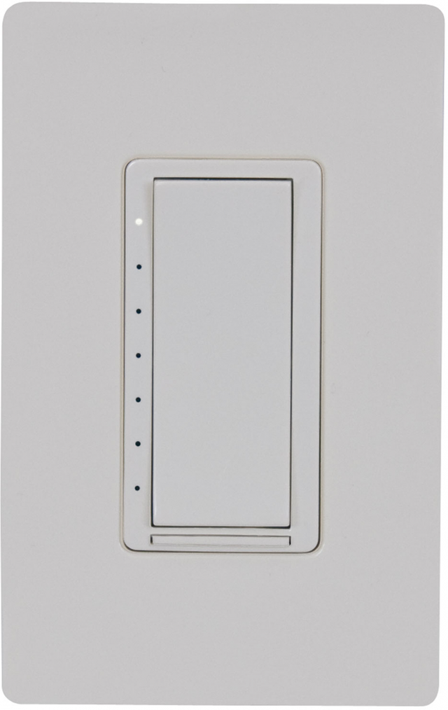 Crestron Cameo® Wireless In-Wall Dimmer, 120V-Almond Textured-CLW-DIMEX-P-A-T