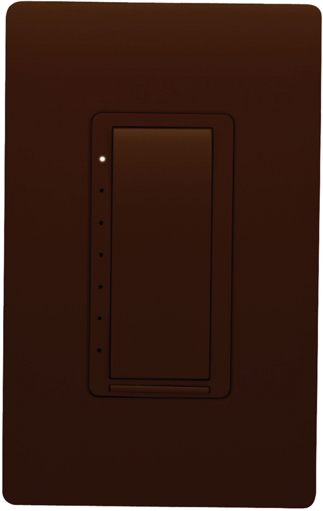 Crestron Cameo® Wireless In-Wall Dimmer, 120V-Brown Smooth-CLW-DIMEX-P-BRN-S