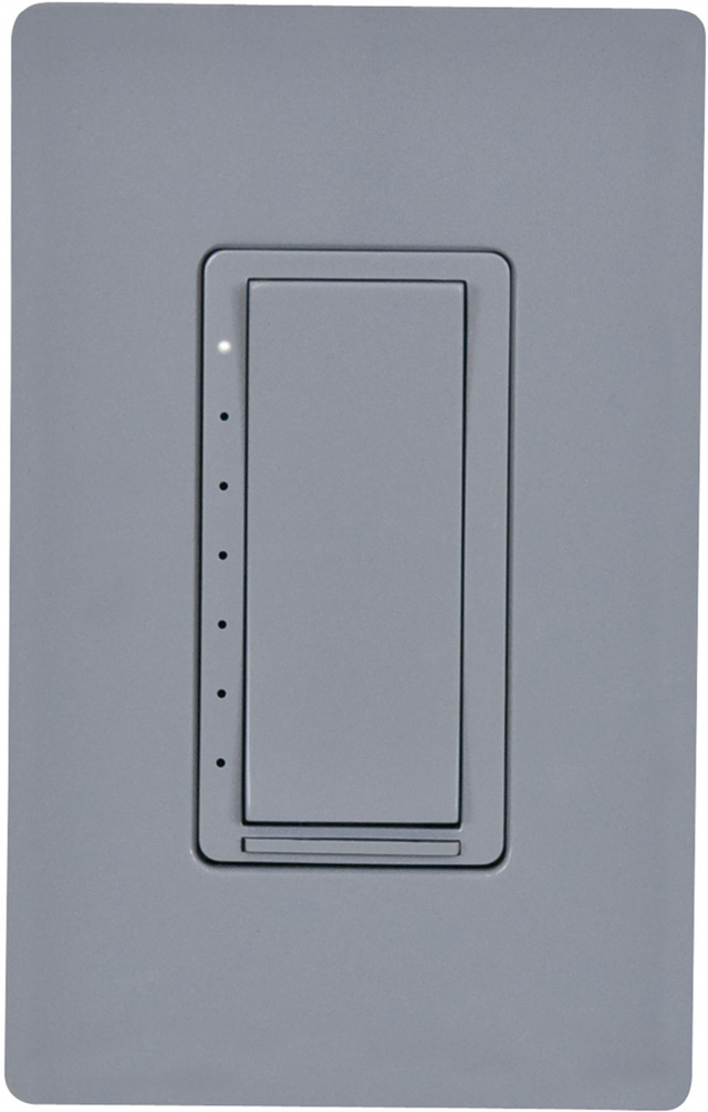 Crestron Cameo® Wireless In-Wall Dimmer, 120V-Gray Smooth-CLW-DIMEX-P-GRY-S