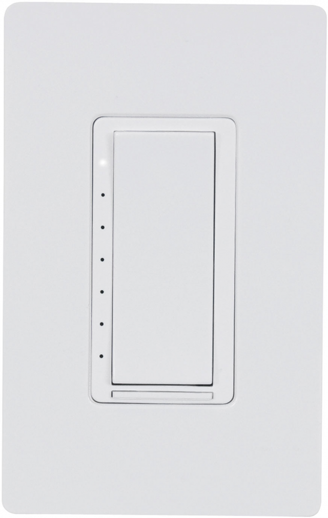 Crestron Cameo® Wireless In-Wall Dimmer, 120V-White Smooth-CLW-DIMEX-P-W-S