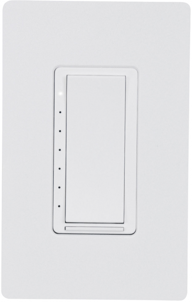 Crestron Cameo® Wireless In-Wall Dimmer, 120V-White Textured-CLW-DIMEX-P-W-T