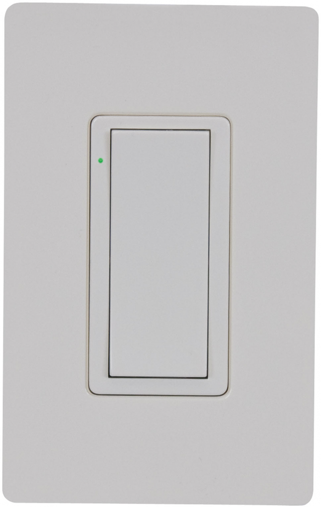 Crestron Cameo® Express Wireless In-Wall Switch, 120V-Almond Smooth-CLW-SWEX-E-A-S