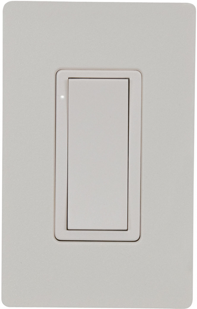 Crestron Cameo® Wireless In-Wall Switch, 120V-Almond Textured-CLW-SWEX-P-A-T