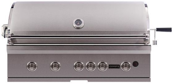 Coyote S-Series Built in Natural Gas Grill-Stainless Steel-CSL42NG