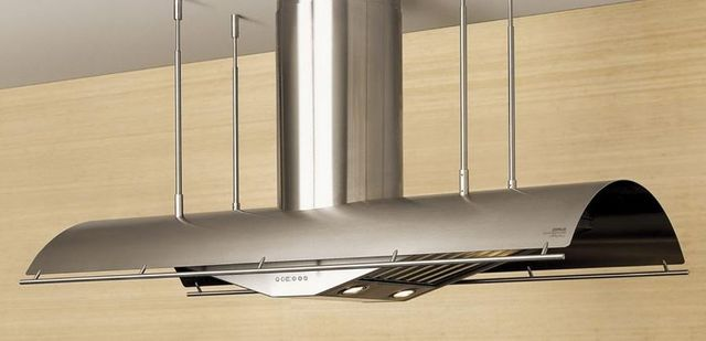 """Zephyr Cheng Collection Trapeze 60"""" Island Hood-Stainless Steel-CTP-E60BSX"""