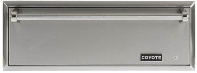 Coyote Outdoor Living Warming Drawer-Stainless Steel-CWD