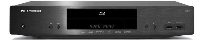 Cambridge Audio Universal Blu-Ray Player-Black-CXU
