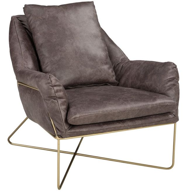 Signature Design by Ashley® Crosshaven Dark Gray Accent Chair-A3000040