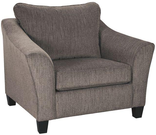 Signature Design by Ashley® Nemoli Slate Chair and a Half-4580623