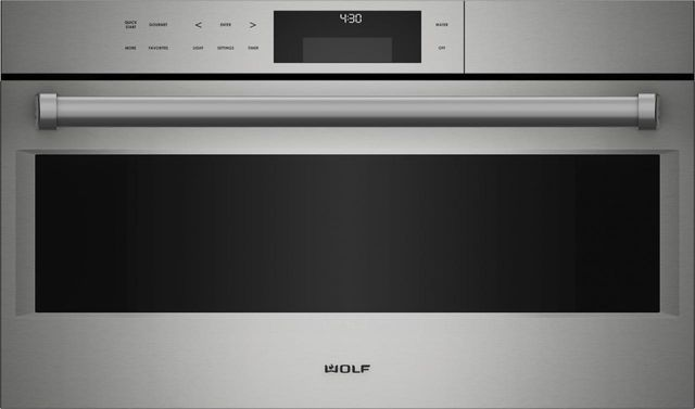 """Wolf® E Series 30"""" Stainless Steel Professional Convection Steam Oven-CSO30PE/S/PH"""