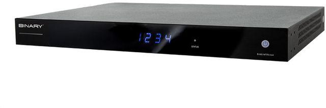 SnapAV Binary™ 660 Series Black 4x4 4K HDR HDMI Matrix Switcher-B-660-MTRX-4X4