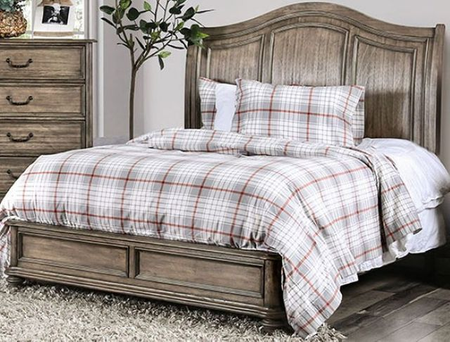 Furniture Of America Belgrade Ii Eastern King Platform Bed Cm7611ek Bed Ideal Furniture Danbury Ct