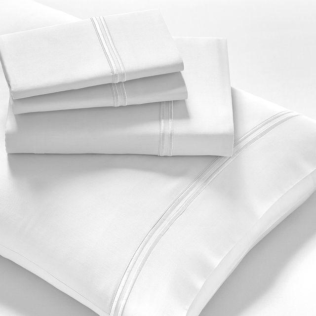 PureCare® Elements™ Premium Tencel™ White Queen Sheet Set-PCST-Q-WH