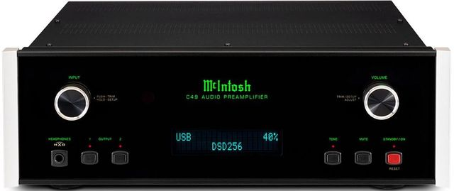 McIntosh® 2-Channel Solid State Preamplifier-C49