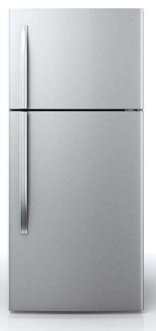 Midea® 18 Cu. Ft. Stainless Steel Top Freezer Refrigerator-WHD-663FWESS1