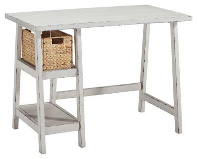 "Signature Design by Ashley® Mirimyn Antique White 42"" Home Office Desk-H505-510"