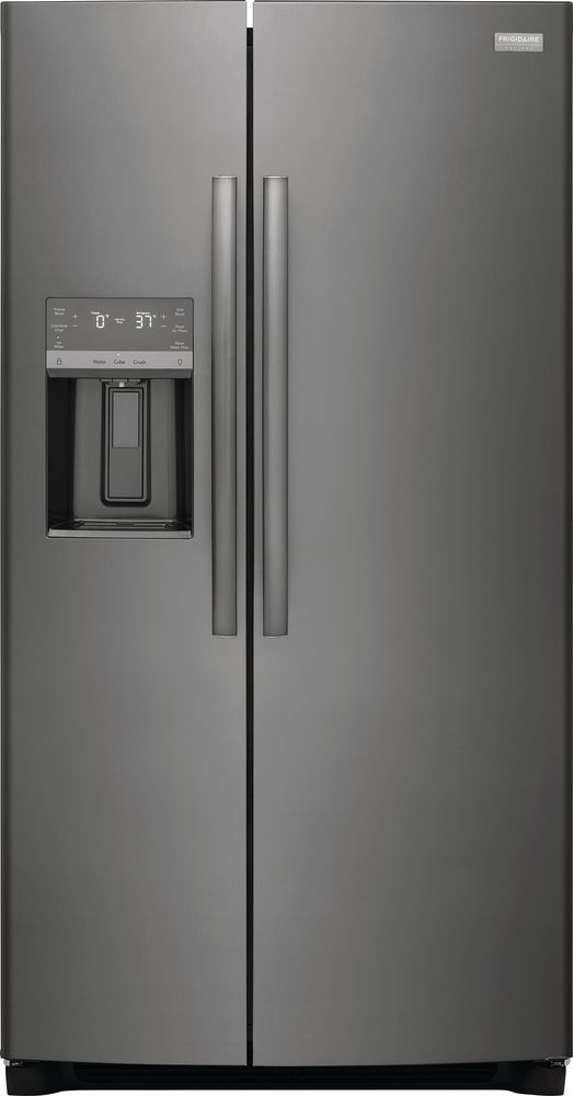 Frigidaire® 25.6 Cu. Ft. Black Stainless Steel Side-by-Side Refrigerator-GRSS2652AD