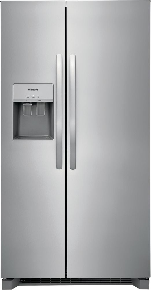 Frigidaire® 25.6 Cu. Ft. Stainless Steel Side-by-Side Refrigerator-FRSS2623AS