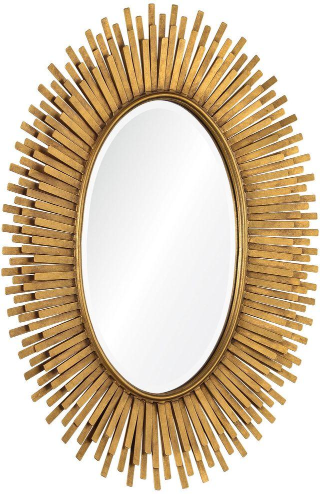 Miroir à feuilles Sparta, or antique, Renwil®-MT1391