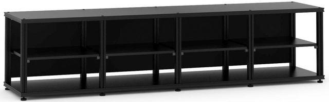 Salamander Designs® Synergy Quad 20 AV Cabinet-Black-SQ20B/B
