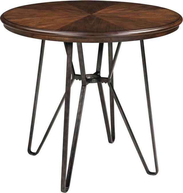Table hauteur comptoir ronde hauteur comptoir Centiar, brun, Signature Design by Ashley®-D372-13