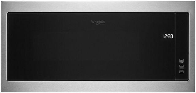 Whirlpool® 1.1 Cu. Ft. Stainless Steel Frame Built In Microwave-WMT50011KS