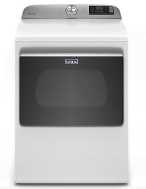 Maytag® 7.4 Cu. Ft. White Front Load Electric Dryer-YMED6230HW