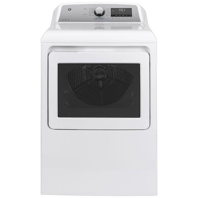 Sécheuse électrique GE® de 7,4 pi³ - Blanc-GTD72EBMNWS