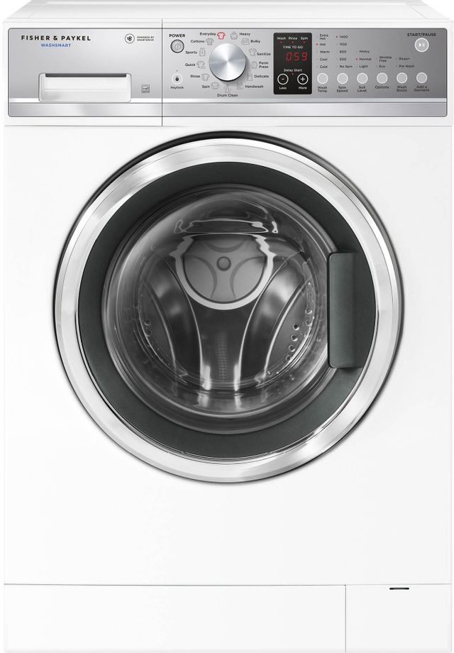 Fisher & Paykel FabricSmart™ Front Load Washer-White-WH2424F1