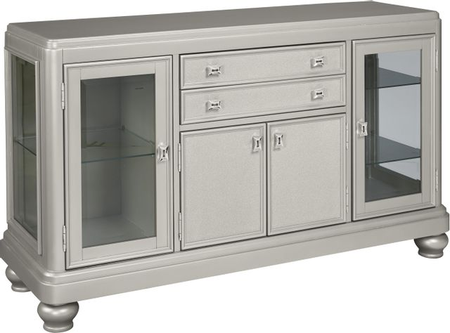 Signature Design by Ashley® Coralayne Silver Dining Room Server-D650-60