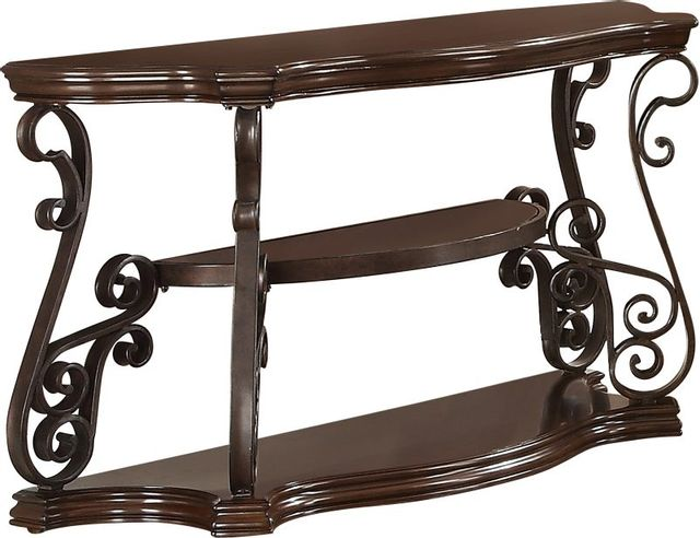 Coaster® Sir Rawlinson Deep Merlot Sofa Table-702449