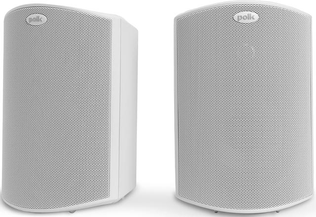 """Polk Audio® Atrium®5 White 5"""" All Weather Outdoor Loudspeaker (Pair)-AM5088"""