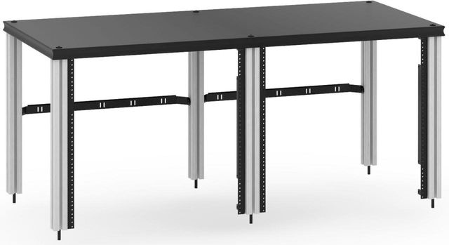 Salamander Designs® Synergy Twin 20 Extension Rack Mount-Black/Aluminum-SNX20RMB/A