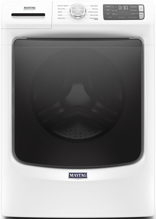 Maytag® 4.5 Cu. Ft. White Front Load Washer-MHW5630HW