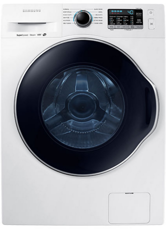 Samsung Front Load Washer-White-WW22K6800AW