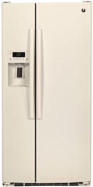 GE® 23.2 Cu. Ft. Side-By-Side Refrigerator-Bisque-GSE23GGKCC