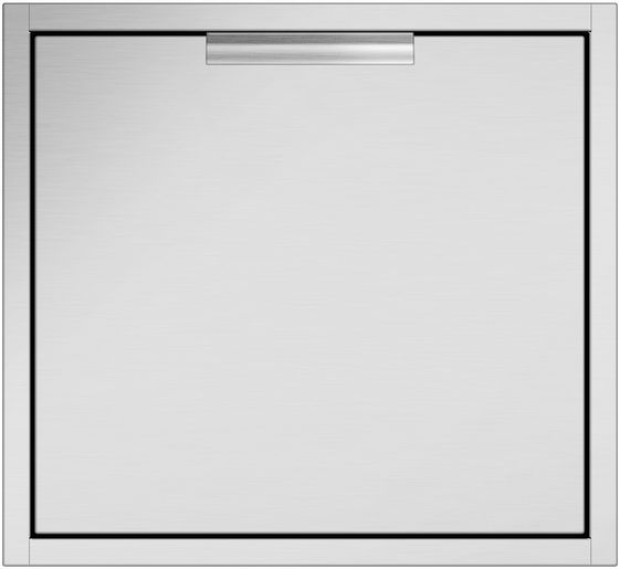 """DCS 24"""" Brushed Stainless Steel Bulit In Access Drawers-ADR2-24"""