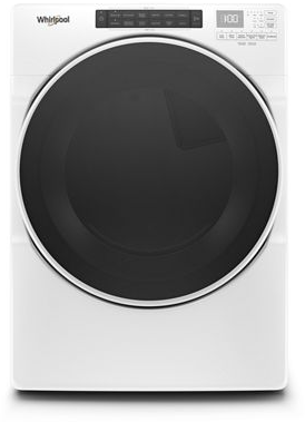 Whirlpool® 7.4 Cu. Ft. White Front Load Electric Dryer-YWED6620HW