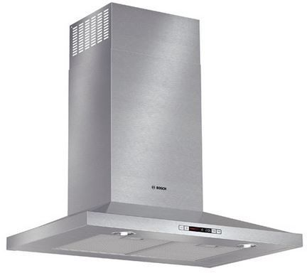 """Bosch 300 Series 36"""" Pyramid Canopy Chimney Hood -Stainless Steel-HCP36651UC"""