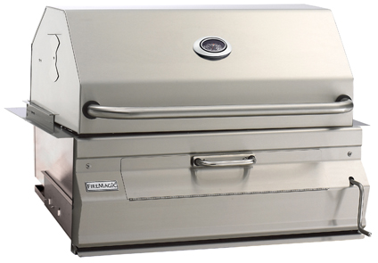 Fire Magic® Charcoal Collection 14 Series Built In Grill-Stainless Steel-14-S101C-A