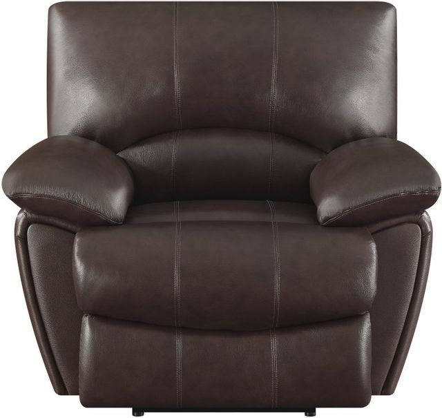 Coaster® Clifford Chocolate Recliner-600283