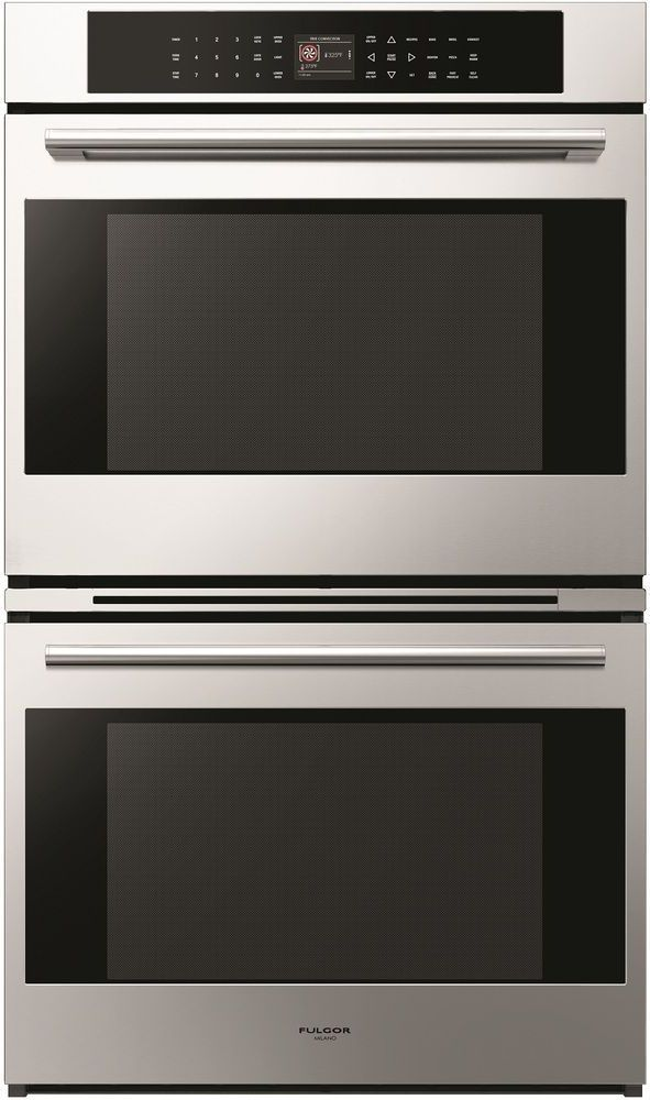 """Fulgor® Milano 700 Series 30"""" Stainless Steel Double Electric Wall Oven-F7DP30S1"""